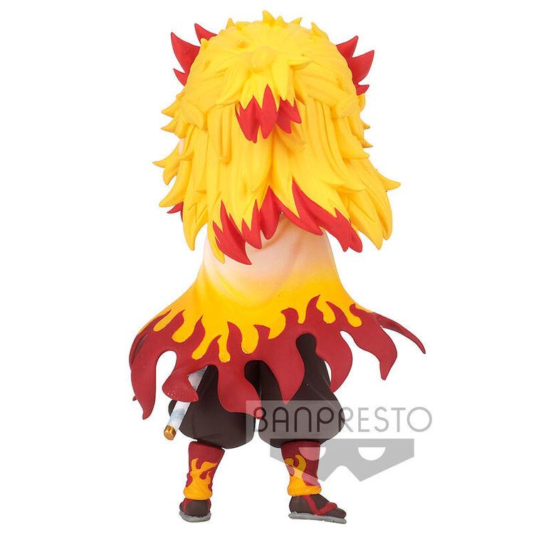 Demon Slayer: Kimetsu no Yaiba Q Posket Petite Figure Kyojuro Rengoku (Banpresto)