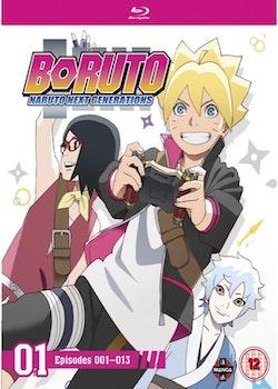 Boruto: Naruto Next Generations Set One Blu-Ray