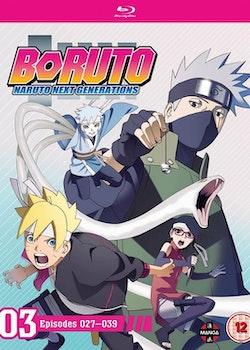 Boruto: Naruto Next Generations Set Three Blu-Ray