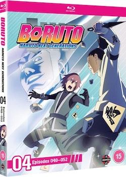Boruto: Naruto Next Generations Set Four Blu-Ray