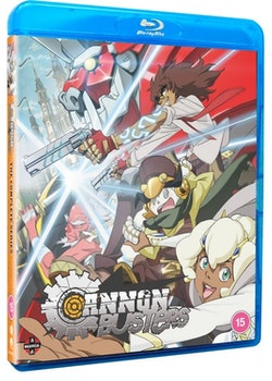 Cannon Busters Complete Series Blu-Ray