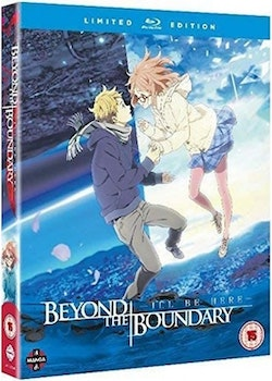 Beyond the Boundary the Movie: I'll Be Here - Past Chapter/Future Arc Combi Blu-Ray/DVD