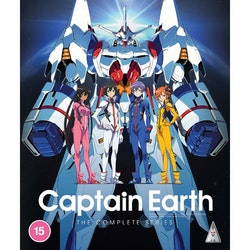 Captain Earth Collection Blu-Ray