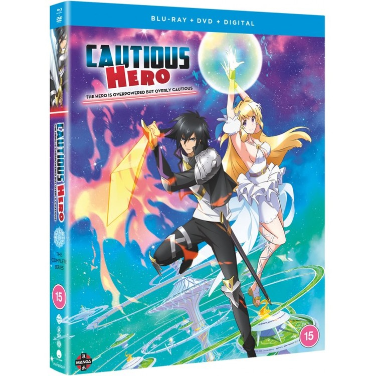 Cautious Hero: The Hero is Overpowered but Overly Cautious Complete Series Blu-Ray