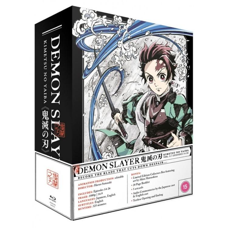 Demon Slayer Kimetsu no Yaiba  - Part 2 Collector's Edition Blu-Ray