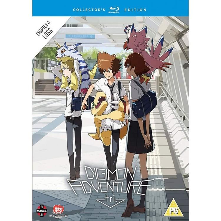 Digimon Adventure Tri the Movie Part 4 - Collector's Edition Blu-Ray