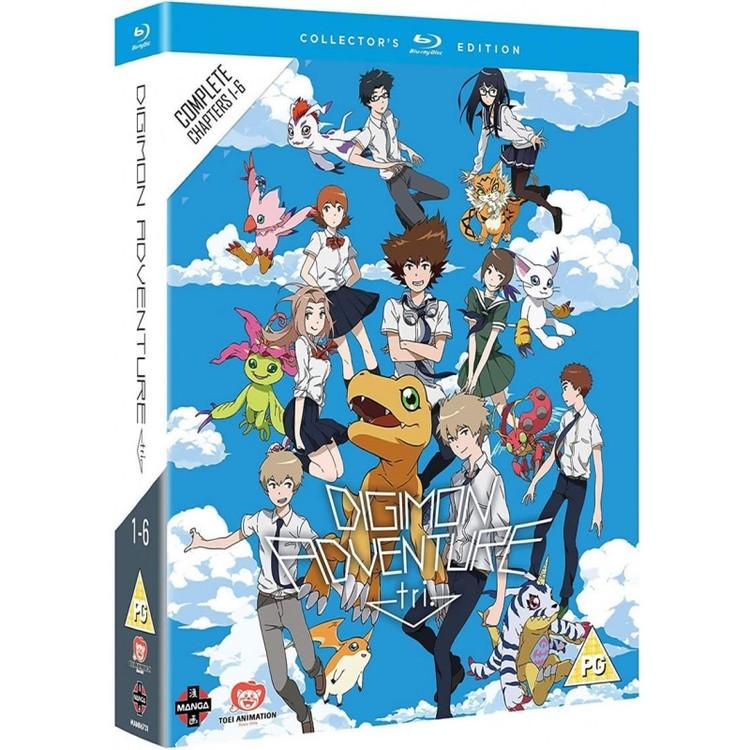 Digimon Adventure Tri: The Complete Movie Collection Blu-Ray
