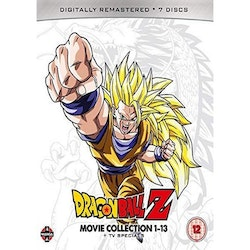 Dragon Ball Z Movie Complete Collection: Movies 1-13 + TV Specials Blu-Ray