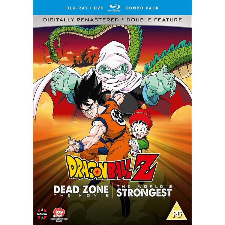Dragon Ball Z Movie Collection One: Dead Zone/The World's Strongest Blu-Ray/DVD