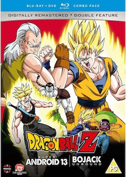 Dragon Ball Z Movie Collection Four: Super Android 13!/Bojack Unbound Blu-Ray/DVD