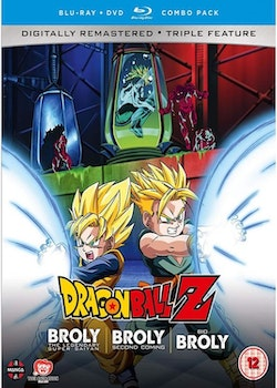 Dragon Ball Z Movie Collection Five: The Broly Trilogy Blu-Ray/DVD