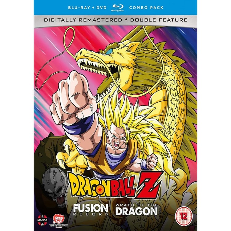 Dragon Ball Z Movie Collection Six: Fusion Reborn/Wrath of the Dragon Blu-Ray/DVD