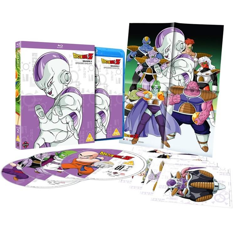 Dragon Ball Z Season 2 Blu-Ray