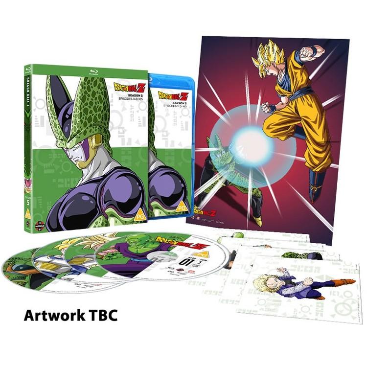Dragon Ball Z Season 5 Blu-Ray