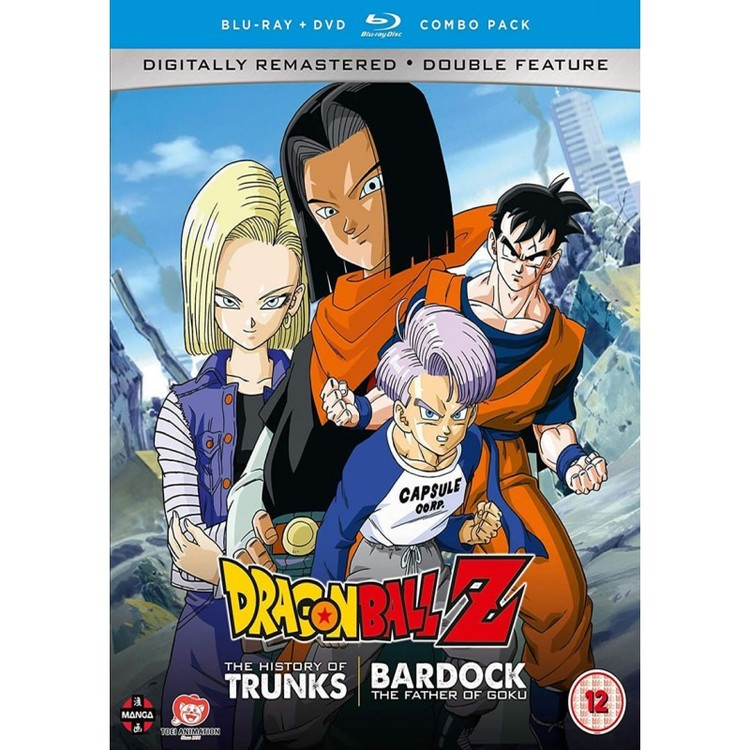 Dragon Ball Z the TV Specials Double Feature: The History of Trunks/Bardock the Father of Goku Blu-Ray/DVD