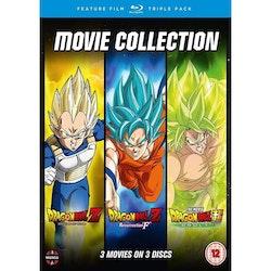Dragon Ball Z Movie Trilogy: Battle of Gods, Resurrection of F & Broly Blu-Ray