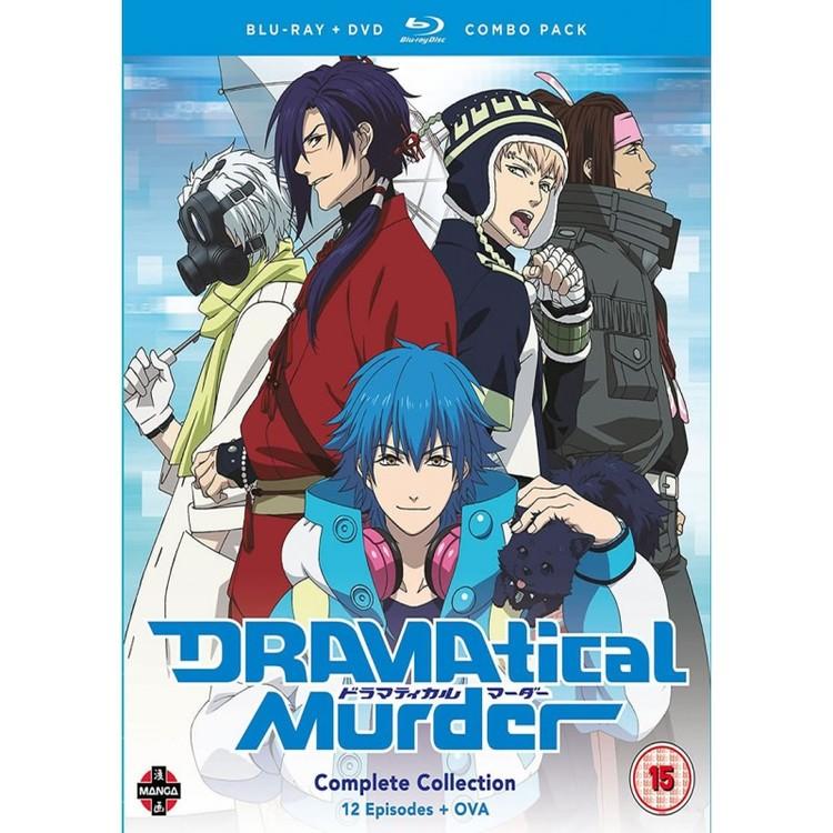 DRAMAtical Murder Complete Series Combi Blu-Ray/DVD