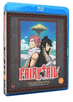 Fairy Tail Collection Five Blu-Ray