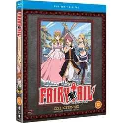Fairy Tail Collection Six Blu-Ray