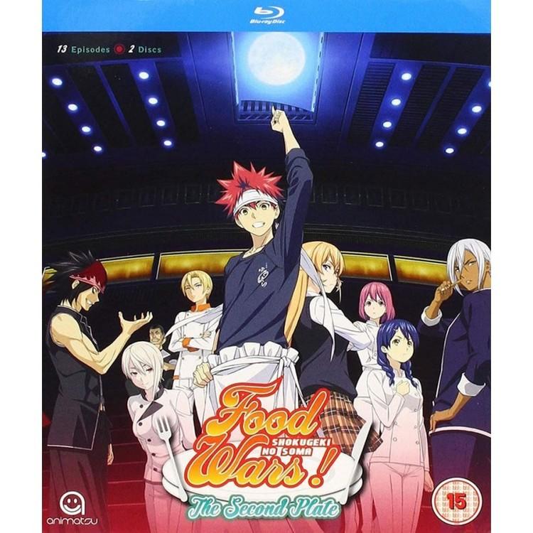 Food Wars! Season 2 Collection Blu-Ray