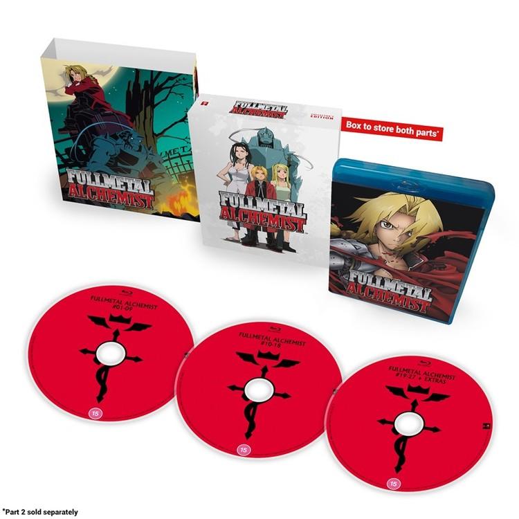 Fullmetal Alchemist Part 1 - Collector's Edition Blu-Ray