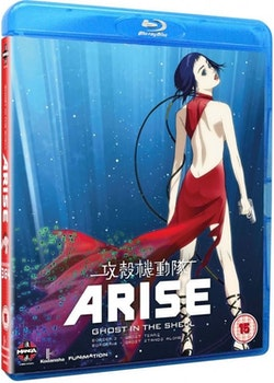 Ghost in the Shell Arise: Borders Parts 3 & 4 Blu-Ray