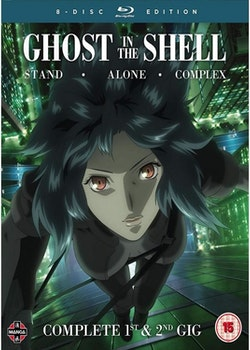 Ghost in the Shell: Stand Alone Complex Complete Series Collection Blu-Ray