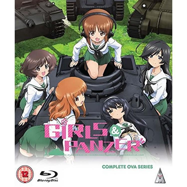 Girls und Panzer OVA Collection Blu-Ray