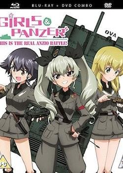 Girls und Panzer: This is the Real Anzio Battle OVA Blu-Ray/DVD