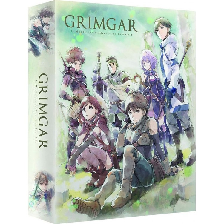 Grimgar Ashes and Illusions Complete Series - Collector's Edition Blu-Ray