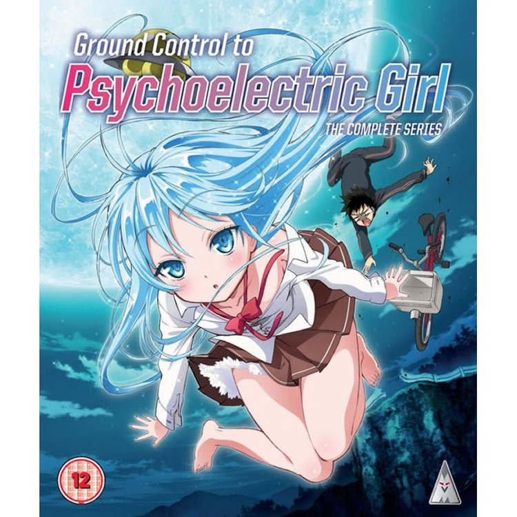Ground Control to Psychoelectric Girl Complete Series Blu-Ray