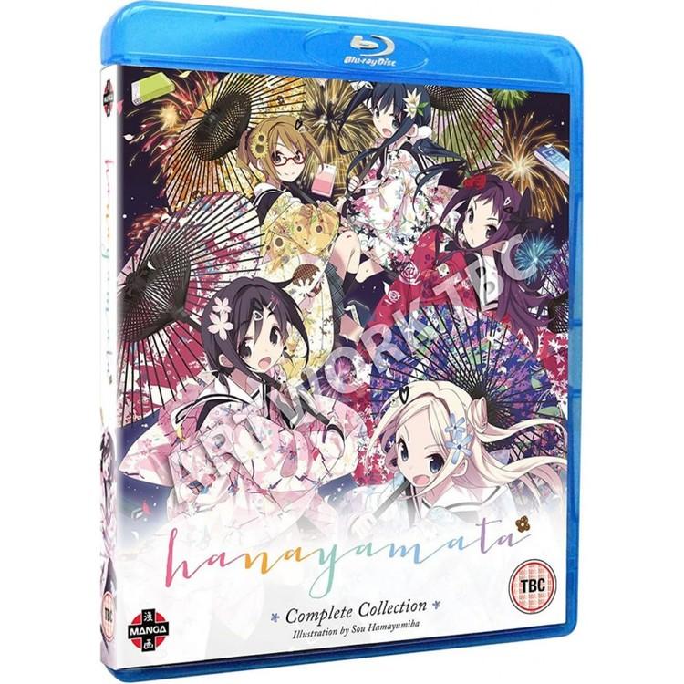HaNaYaMaTa Complete Collection Blu-Ray