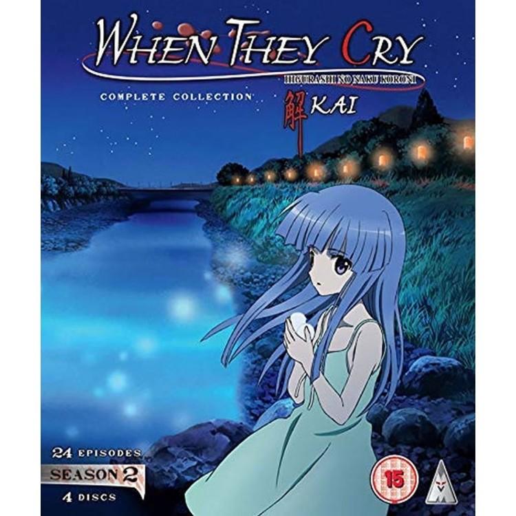 Higurashi: When They Cry - Kai Season 2 Collection Blu-Ray