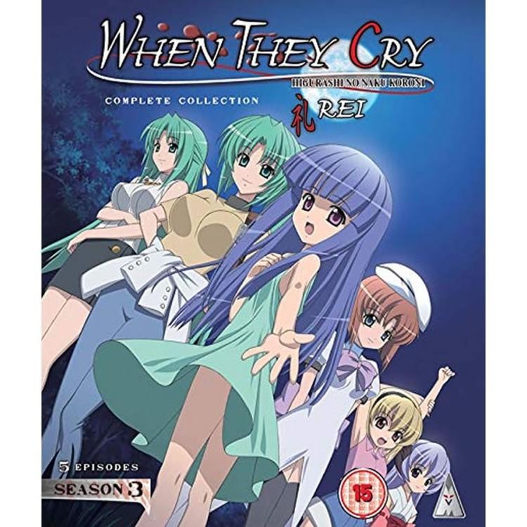 Higurashi: When They Cry - Rei Season 3 Collection Blu-Ray