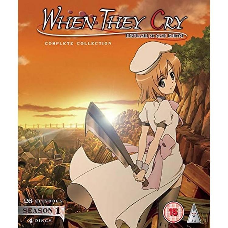 Higurashi: When They Cry - Season 1 Collection Blu-Ray