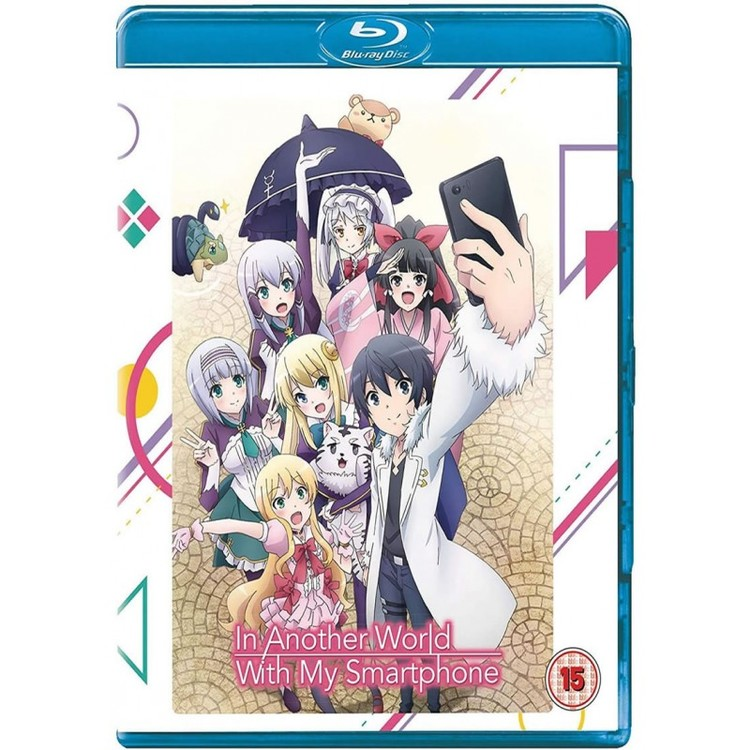 In Another World With My Smartphone Collection Blu-Ray/DVD