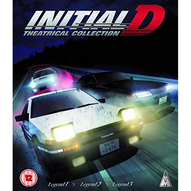Initial D Legend - Movie Collection Blu-Ray