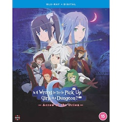 Is It Wrong To Try To Pick Up Girls In A Dungeon? Arrow Of The Orion Blu-Ray