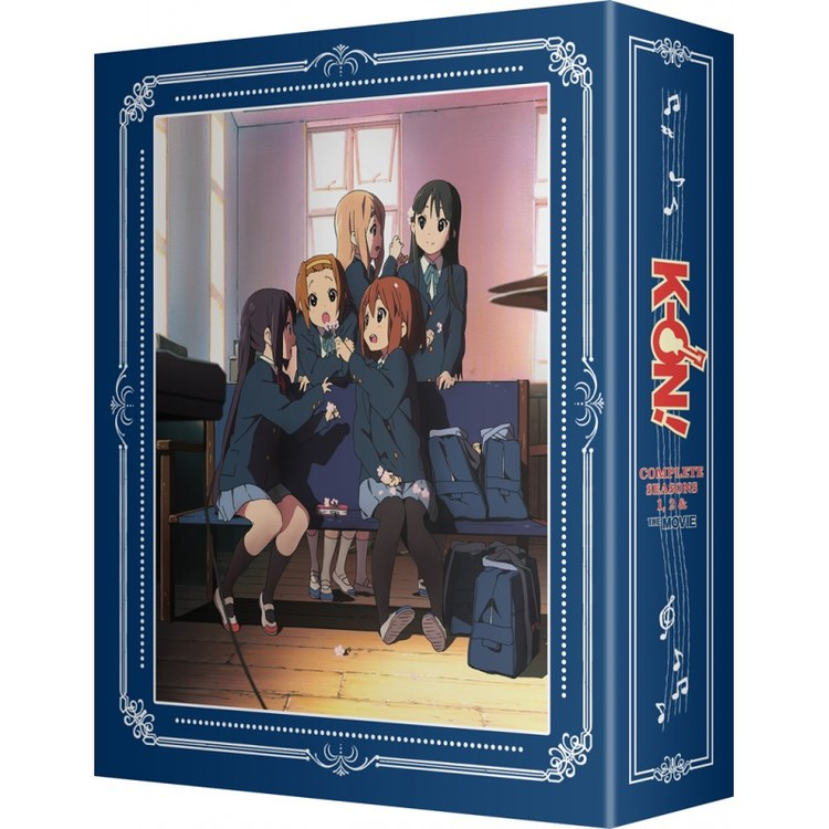 K-ON! Complete Collection [S1, S2 & Movie] - Limited Edition Blu-Ray