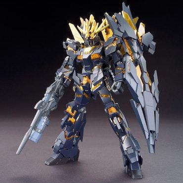 HGUC Gundam Unicorn Banshee Norn Destroy Mode 1/144 (Bandai)