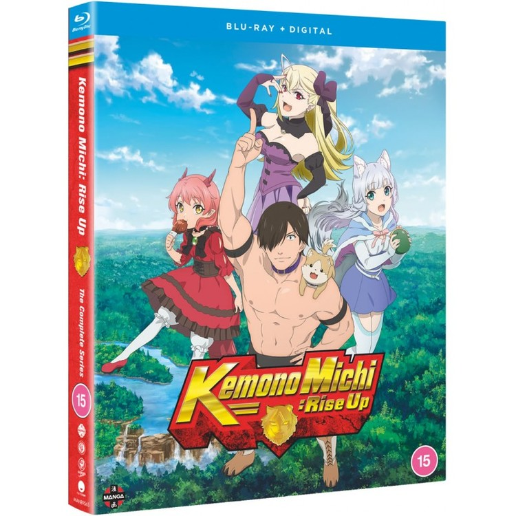 Kemono Michi: Rise Up Complete Series Blu-Ray