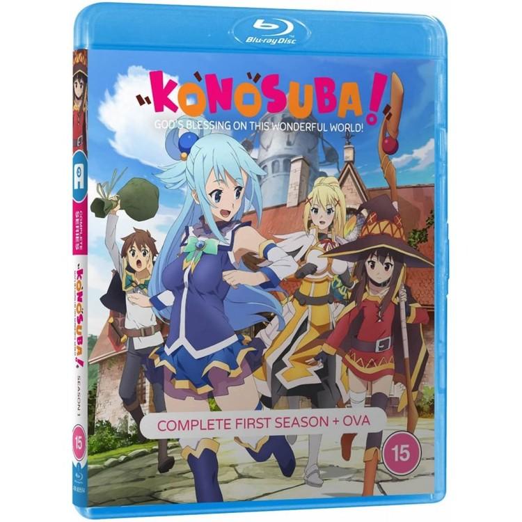 KonoSuba – God's Blessing On This Wonderful World! - Season 1 Standard Edition Blu-Ray