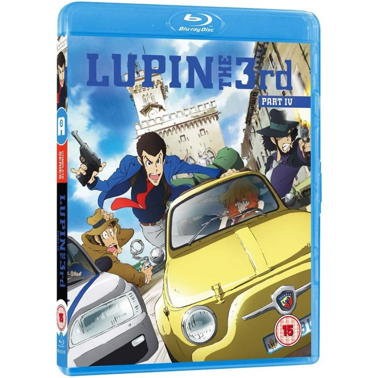 Lupin the 3rd Part IV (2015) - Complete Series Blu-Ray