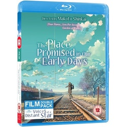 Makoto Shinkai Collection: Place Promised in Our Early Days/Voices of a Distant Star Standard Edition Blu-Ray