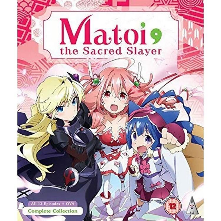 Matoi the Sacred Slayer Collection Blu-Ray