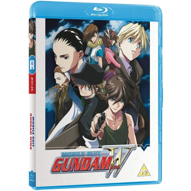 Mobile Suit Gundam Wing - Part 1 Blu-Ray