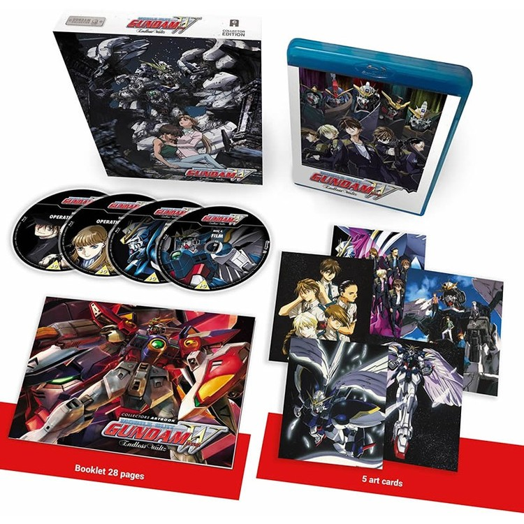 Mobile Suit Gundam Wing: Endless Waltz - Collector's Edition Blu-Ray