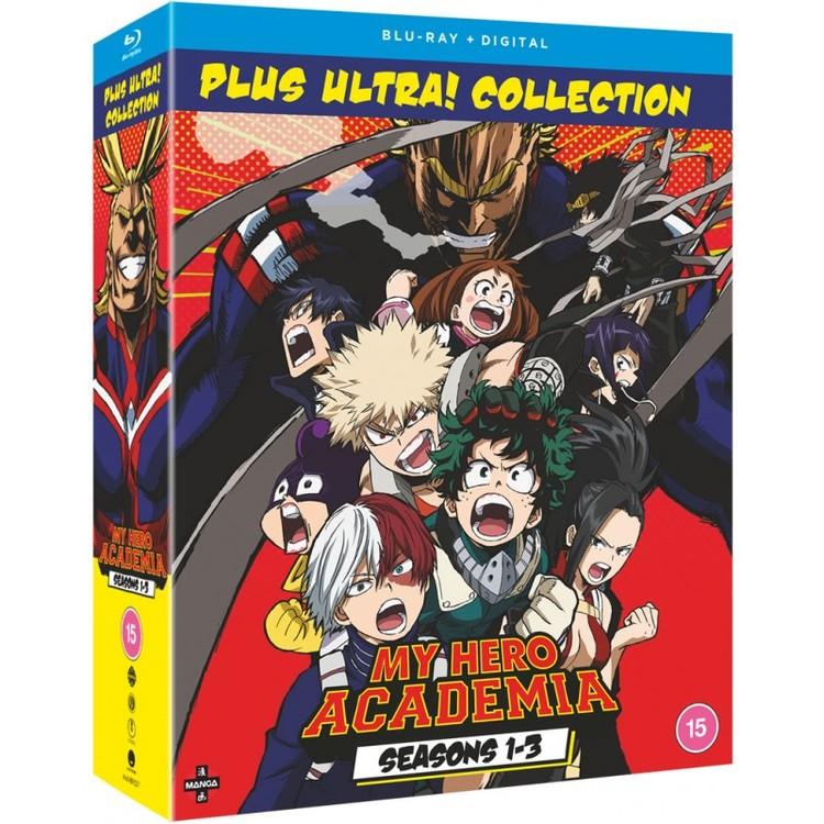 My Hero Academia: Seasons 1-3 Collection Blu-Ray