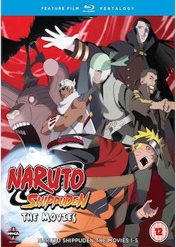 Naruto Shippuden Movies 1-5 Blu-Ray