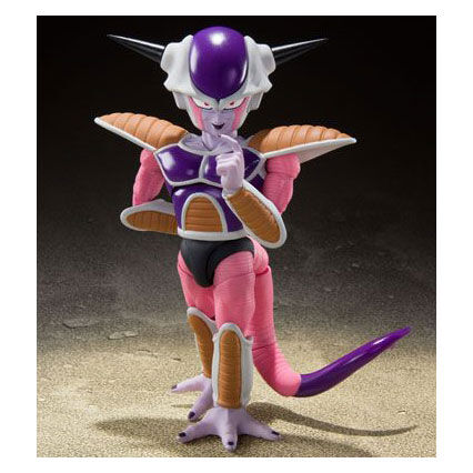 Dragon Ball Z S.H. Figuarts Action Figure Frieza First Form and Pod Set (Tamashii Nations)